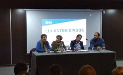Se presentó la Ley antidespido en Buenos Aires